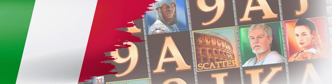 Slot Gladiator con jackpot