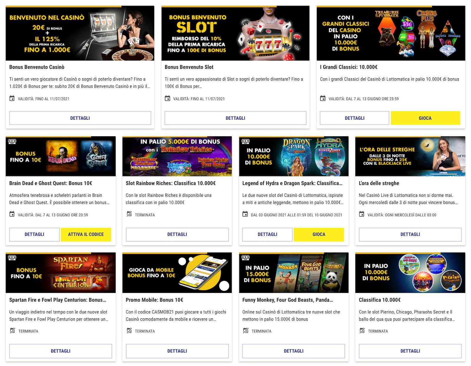 accedi al tuo account personale app mobile lottomatica