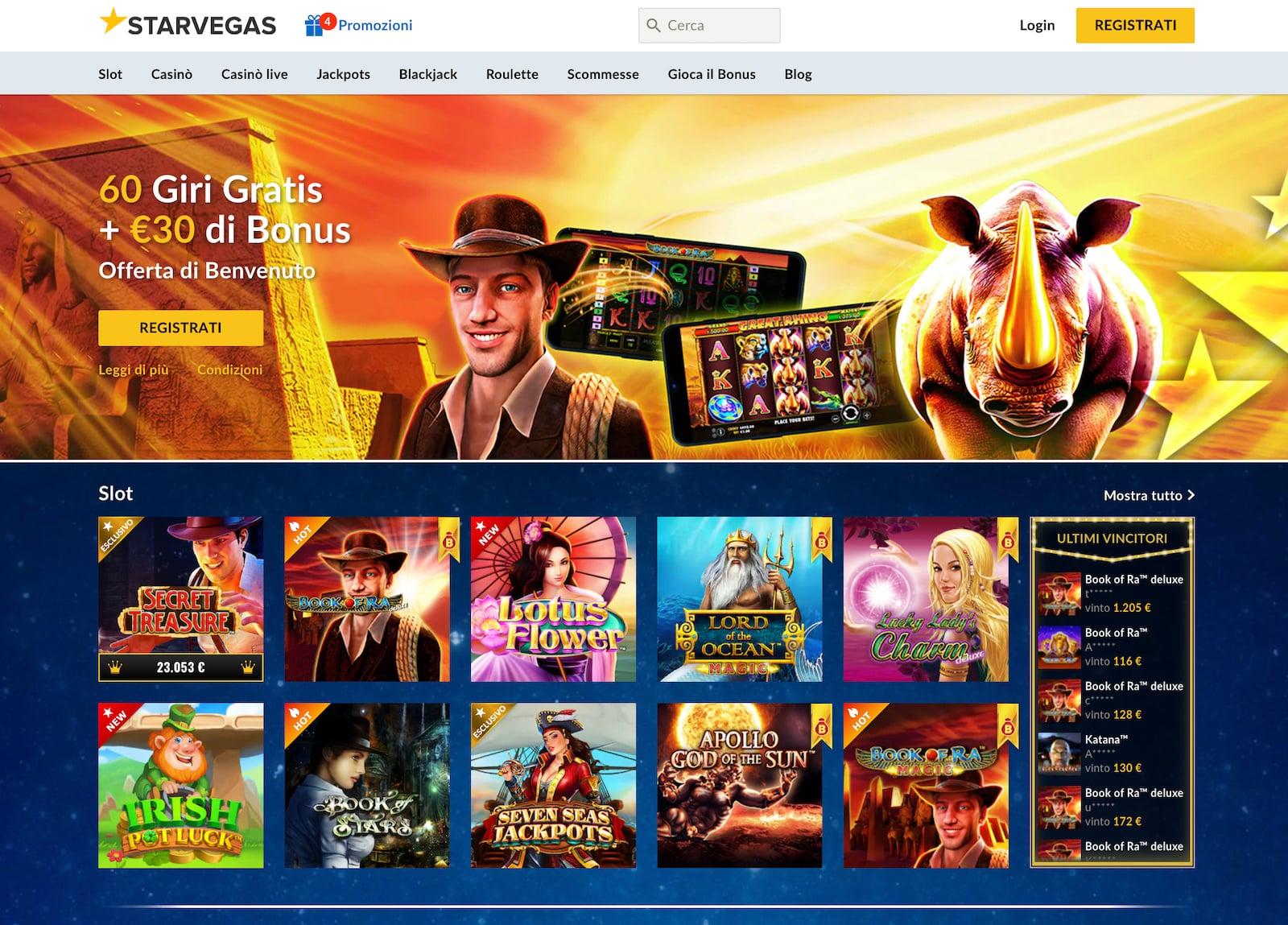 come iniziare a giocare alle slot online tramite app starvegas