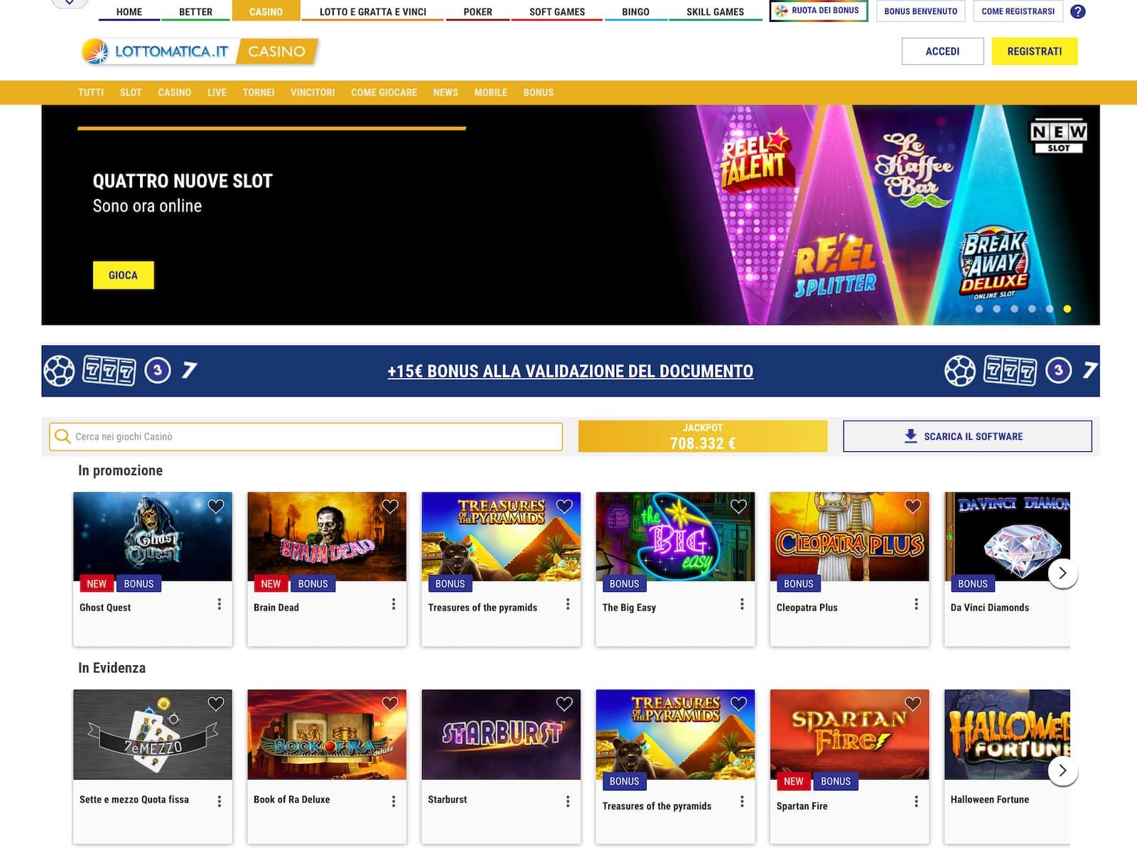 come ottenere un bonus paypal sul sito lottomatica