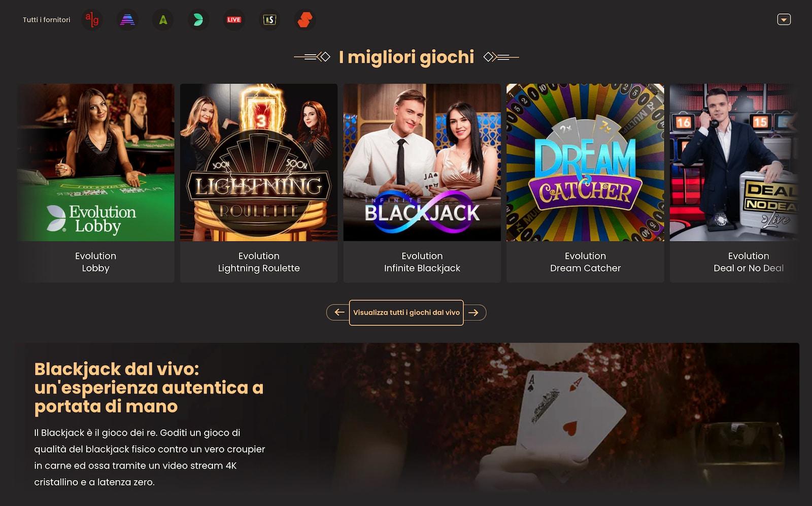 recensione del sito ufficiale del casino national